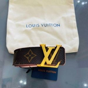 LOUIS VUITTON DUSTY PINK BELT 80CM